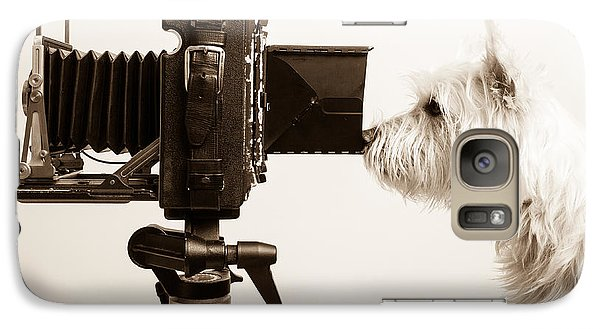 Pho Dog Grapher Galaxy Case by Edward Fielding