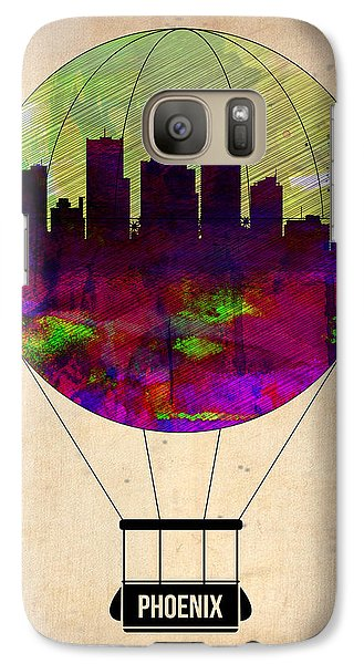 Phoenix Air Balloon  Galaxy Case by Naxart Studio