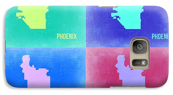Phoenix Pop Art Map 1 Galaxy Case by Naxart Studio