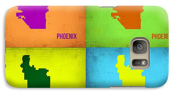Phoenix Pop Art Map Galaxy S7 Case