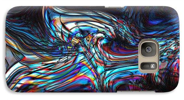 Galaxy Case featuring the digital art Phoenix by Richard Thomas