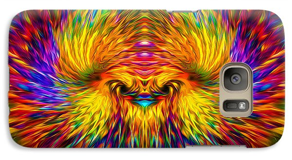 Galaxy Case featuring the painting Phoenix Rising  by Jalai Lama