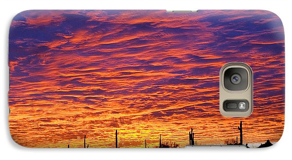 Phoenix Sunrise Galaxy S7 Case
