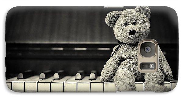 Piano Bear Galaxy S7 Case