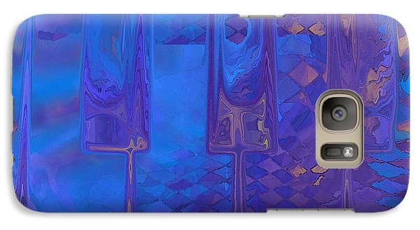 Galaxy Case featuring the digital art Piano Music by Constance Krejci