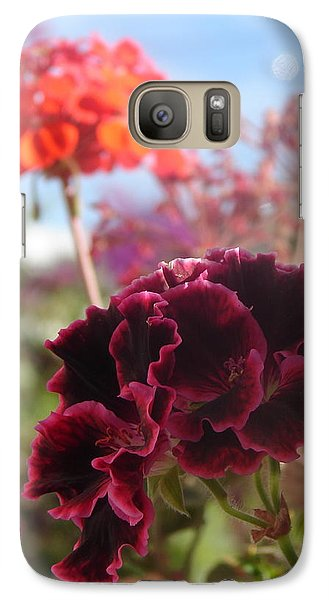 Galaxy Case featuring the photograph Pick Me by Lew Davis