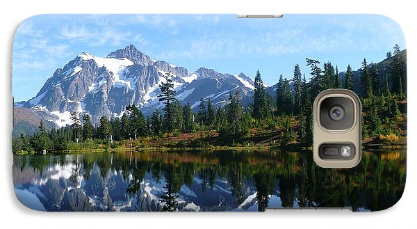 Galaxy Case featuring the photograph Picture Lake by Priya Ghose