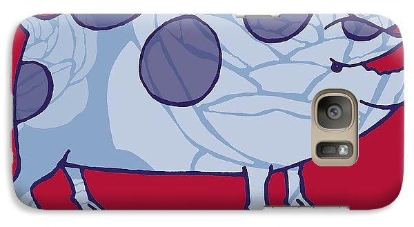 Piddle Valley Pig Galaxy S7 Case by Sarah Hough