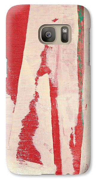 Galaxy Case featuring the painting Pieces Of The Puzzle C2013 by Paul Ashby