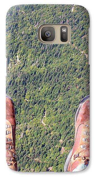 Galaxy S7 Case featuring the photograph Pieds Loin Du Sol by Marc Philippe Joly