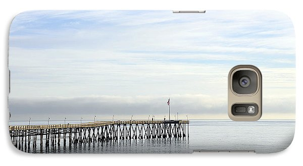 Galaxy Case featuring the photograph Pier by Gandz Photography
