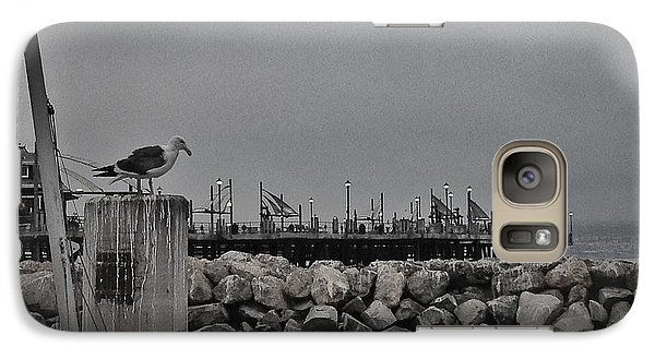 Galaxy Case featuring the photograph Pier Lights by Kevin Bergen