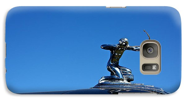 Galaxy Case featuring the photograph 1938 Pierce Arrow by Linda Bianic