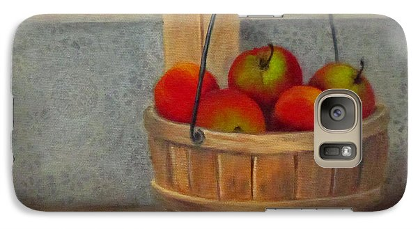 Galaxy Case featuring the painting Pies Anyone by Roseann Gilmore