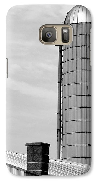 Galaxy Case featuring the photograph Pigeon Perch by Mary Beth Landis