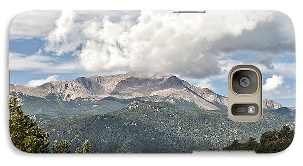 Galaxy Case featuring the photograph Pikes Peak by Cheryl Davis