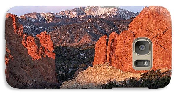 Pikes Peak Sunrise Galaxy S7 Case