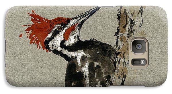 Woodpecker Galaxy S7 Case - Pileated Woodpecker by Juan  Bosco
