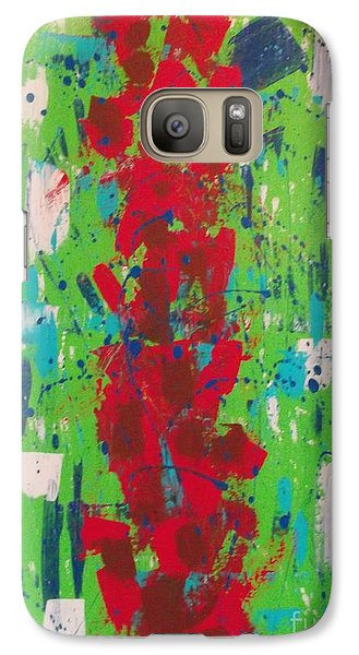 Galaxy Case featuring the painting Pillar Of Hope by Theresa Kennedy DuPay