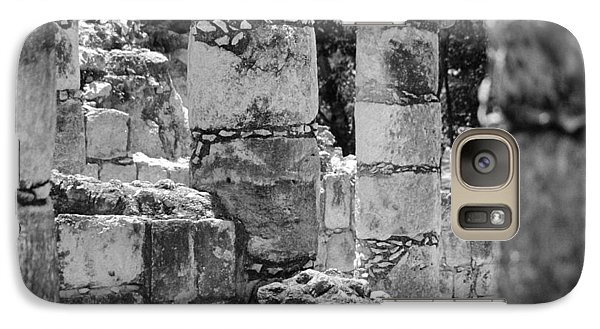 Galaxy Case featuring the photograph Pillars In Disarray by Kirt Tisdale