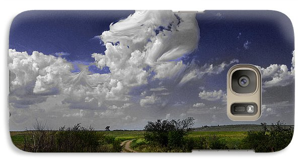 Galaxy Case featuring the photograph Pin-up Sky by Brian Duram