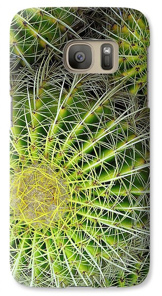 Galaxy Case featuring the photograph Pincushion Cactus  by Ranjini Kandasamy