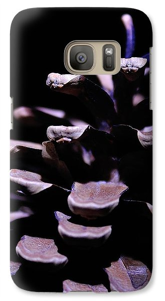 Galaxy Case featuring the photograph Pine Cone by Todd Soderstrom