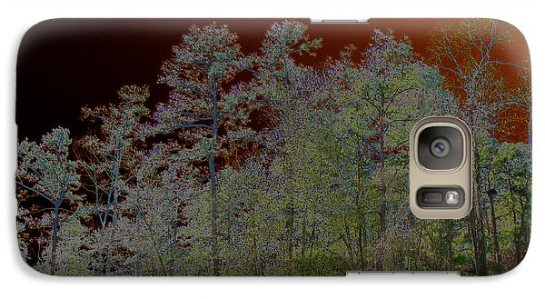 Galaxy Case featuring the photograph Pine Forest by Connie Fox