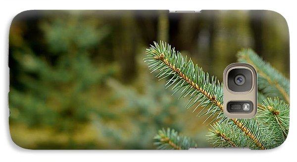 Galaxy Case featuring the photograph Pine Tree by Alex King