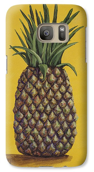 Galaxy Case featuring the painting Pineapple 4 by Darice Machel McGuire