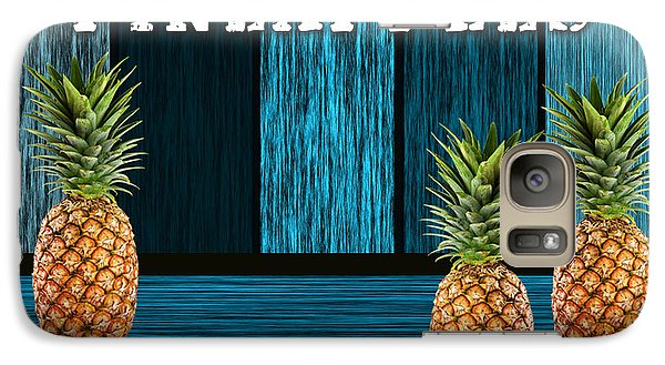 Pineapple Farm Galaxy Case by Marvin Blaine