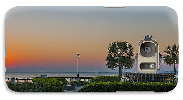 Galaxy Case featuring the photograph Dawns Light by Dale Powell