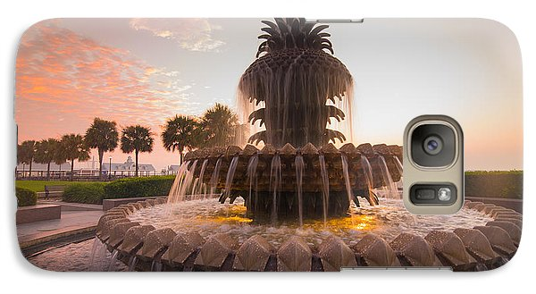 Galaxy Case featuring the photograph Pineapple Fountain by Serge Skiba