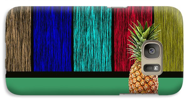 Pineapple Galaxy Case by Marvin Blaine