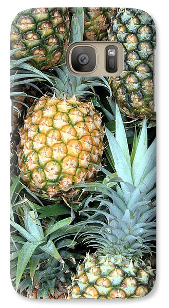 Galaxy Case featuring the photograph Pineapple Paradise by Karen Nicholson