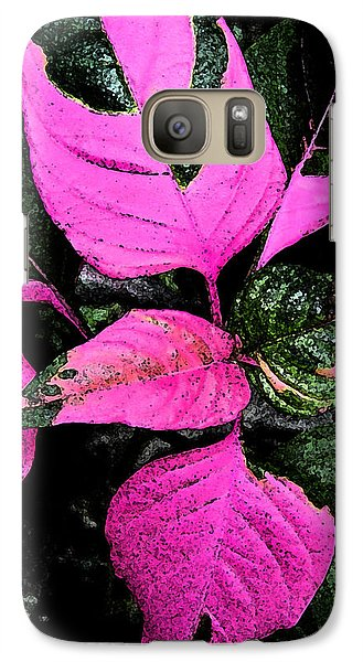 Galaxy Case featuring the photograph Pink And Green by Aimee L Maher Photography and Art Visit ALMGallerydotcom