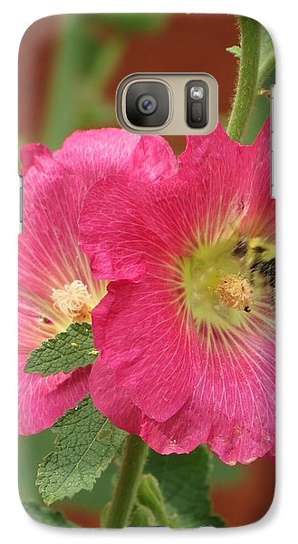 Galaxy Case featuring the photograph Pink And Sweet by Jeanette Oberholtzer