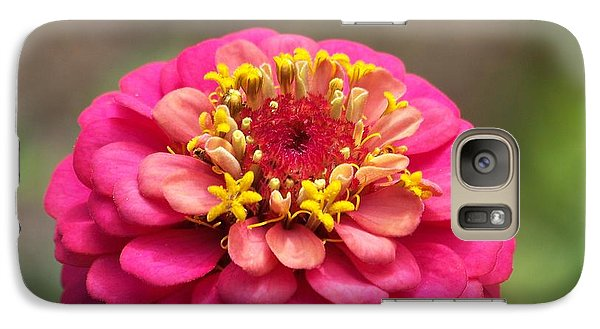 Galaxy Case featuring the photograph Pink Floral  by Eunice Miller
