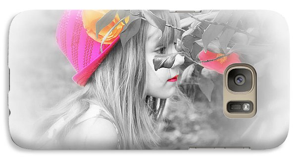 Galaxy Case featuring the photograph Pink Beauty by Kelly Reber
