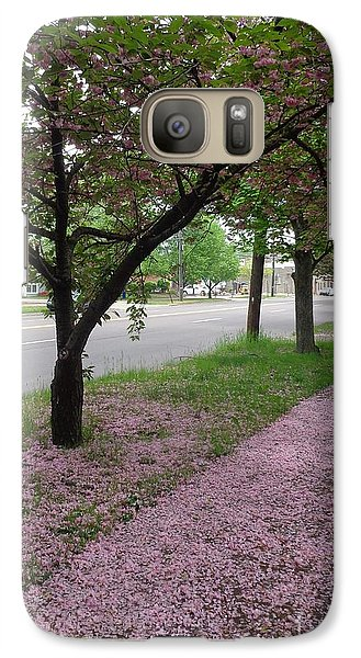 Galaxy Case featuring the photograph Pink Bloom  by Christina Verdgeline
