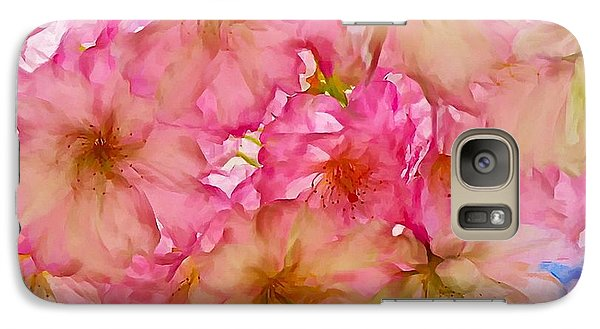Galaxy Case featuring the digital art Pink Blossom by Lilia D
