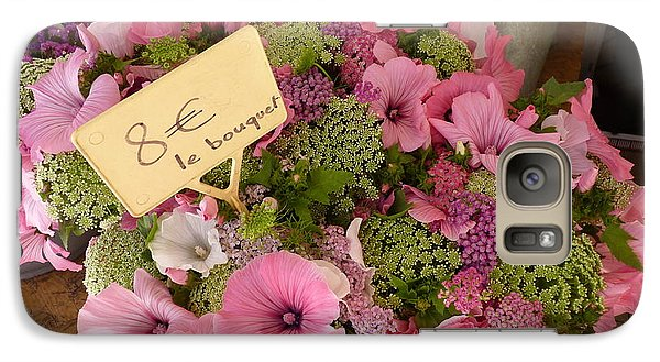 Galaxy Case featuring the photograph Pink Bouquet by Carla Parris