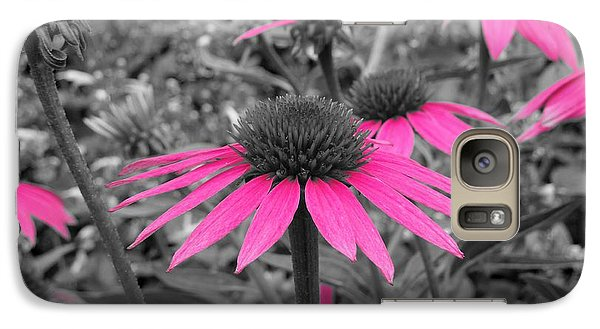 Galaxy Case featuring the photograph Pink Cone Flowers by Chad and Stacey Hall