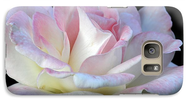 Galaxy Case featuring the photograph Pink Cotton Candy by Wanda Brandon