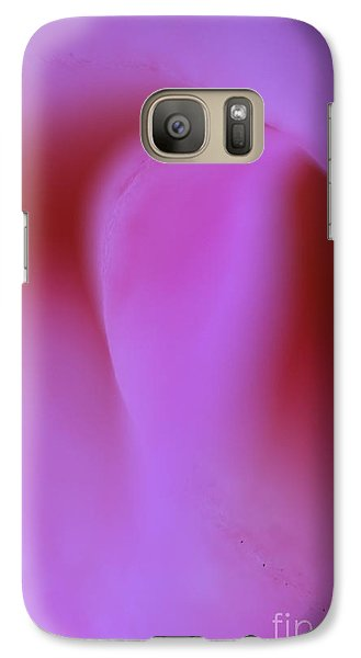 Galaxy Case featuring the photograph Pink Kiss  by John F Tsumas
