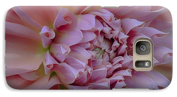 Galaxy Case featuring the photograph Pink Dahlia by Jacqui Boonstra
