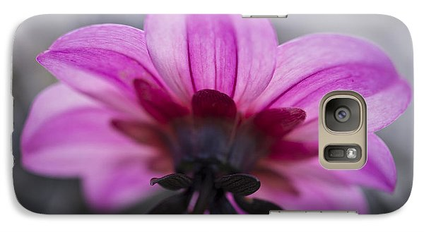 Galaxy Case featuring the photograph Pink Dahlia by Priya Ghose