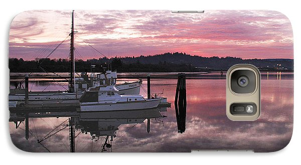 Galaxy Case featuring the photograph Pink Dawn by Suzy Piatt
