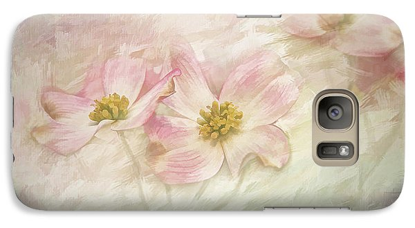 Galaxy Case featuring the painting Pink Dogwood by Linda Blair