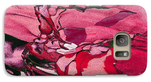 Galaxy Case featuring the digital art Pink Eyes by Matt Lindley